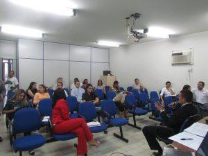 Encontro educativo sobre processos éticos